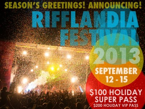 Rifflandia 2013 dates announced