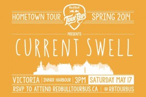 Current Swell- Red Bull Tour Bus