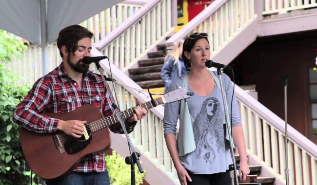 Video: Noah Edwards Band at Market Square (July 5, 2014)