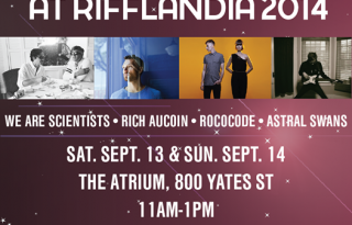 Rifflandia War Child Lounge 2014- First Four Artists