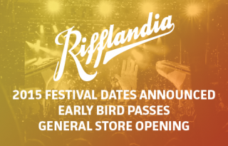 Rifflandia 2015- Earlybird Wristbands