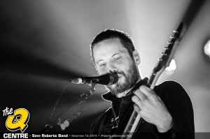 Sam Roberts at The Q Centre Photo courtesy: Webmeister Bud - The Zone@91.3