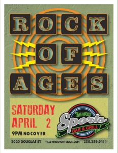 Rock of Ages- Tally Ho Sports Bar