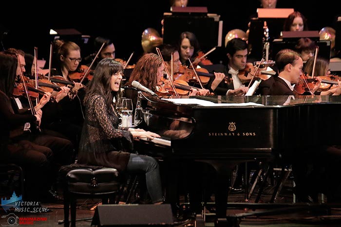 Chantal Kreviazuk with the Victoria Symphony