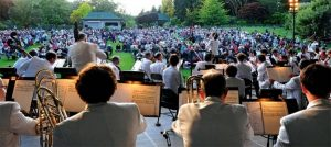 The Victoria Symphony- Butchart Gardens