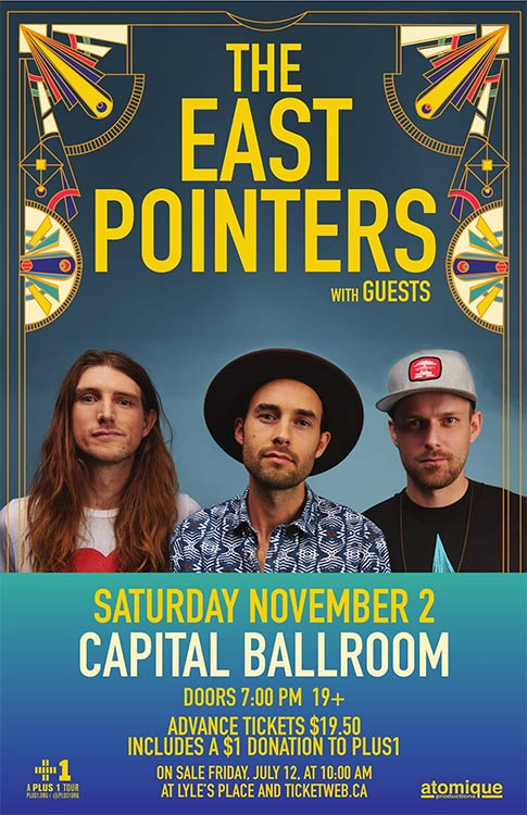 The East Pointers- Capital Ballroom