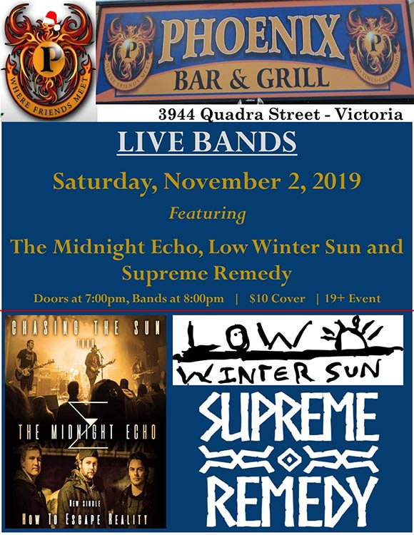 The Midnight Echo- Phoenix Bar And Grill