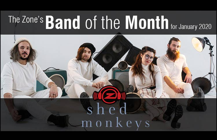 Zone Band of The Month- Shed Monkeys