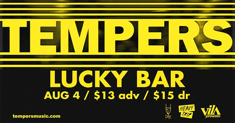 Tempers- Lucky Bar