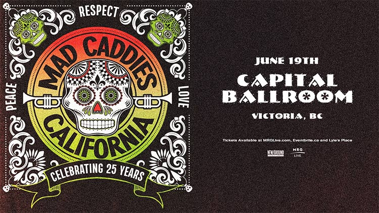 Mad Caddies- Capital Ballroom