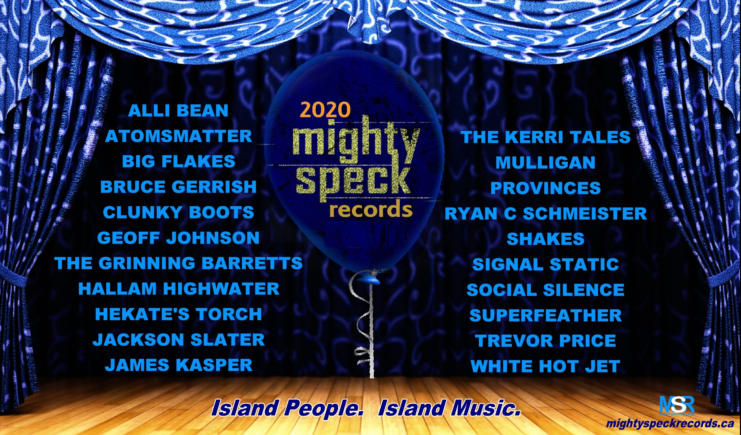 Might Speck Records 2020 roster