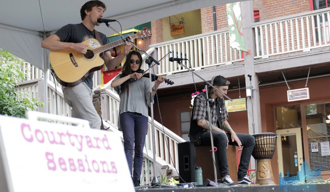Carmanah- Market Square Courtyard Sessions 2014