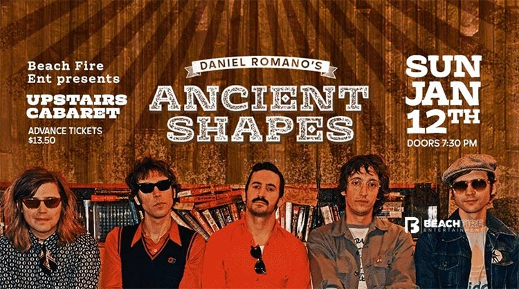 Daniel Romano's Ancient Shapes- Upstairs Cabaret